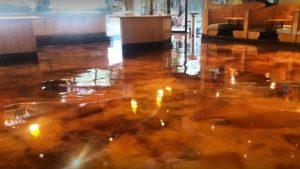 metallic epoxy flooring in atlanta ga